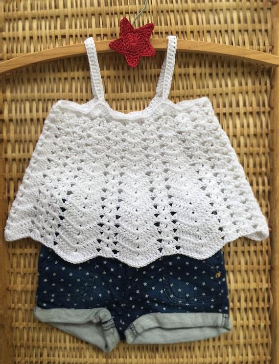 Crochet Pattern Ventura Swing Tank Top Baby Toddler Childrens Etsy