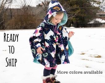 Toddler poncho | Etsy