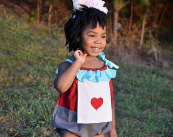 White Rabbit costume - Halloween Costume - Alice in Wonderland - Birthday Romper - Boys costume - Girls costume - Mad Hatter