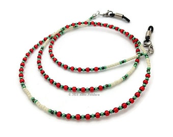 a1f52bcad12 Mrs Claus Glasses Chain for Granny