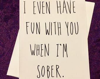 Fun When I'm Sober