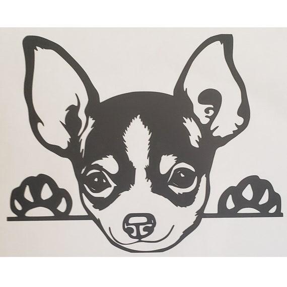 "dog breed rescue 6.5/"" MORKIE vinyl decal car window laptop sticker"
