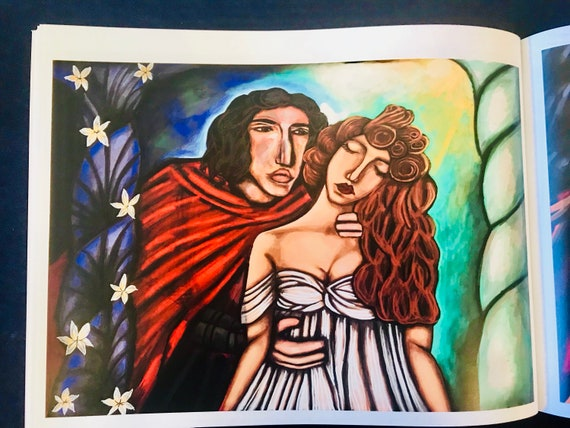 Hades And Persephone Art Book Graphic Novel Hades And Persephone Graphic Novel Artbook Greek Mythology Adult Artbook
