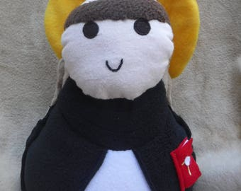 Saint Doll St. Thomas Aquinas Soft Catholic Religious Toy