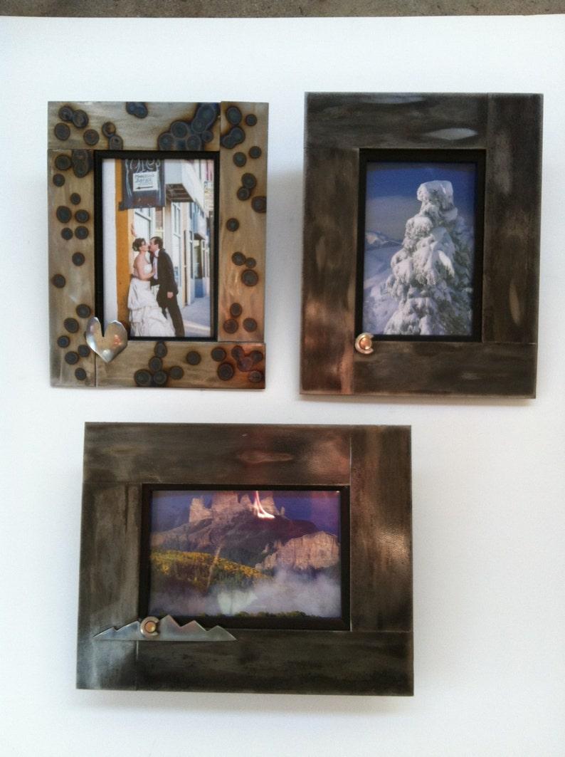 Colorado Heart Mountain Picture Frame 8x10