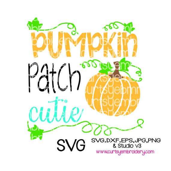 Pumpkin Svg Design Halloween Svg Design Pumpkin Patch Cutie Etsy