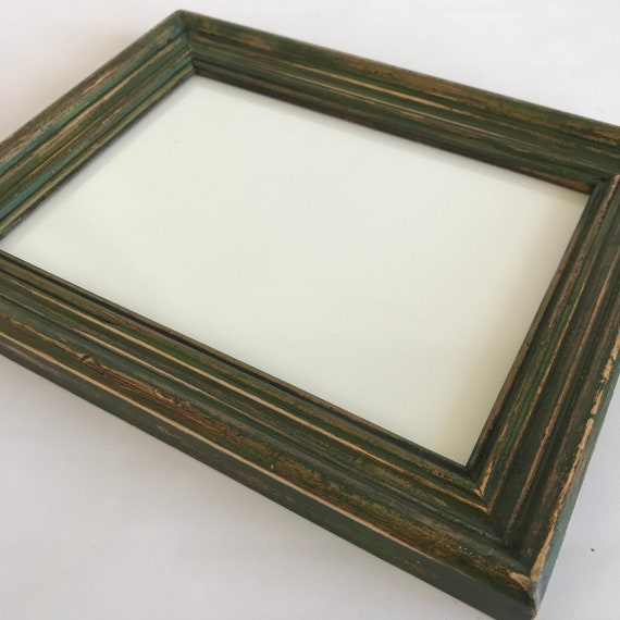 Green Distressed Frame Dry Erase Board White Board   Etsy