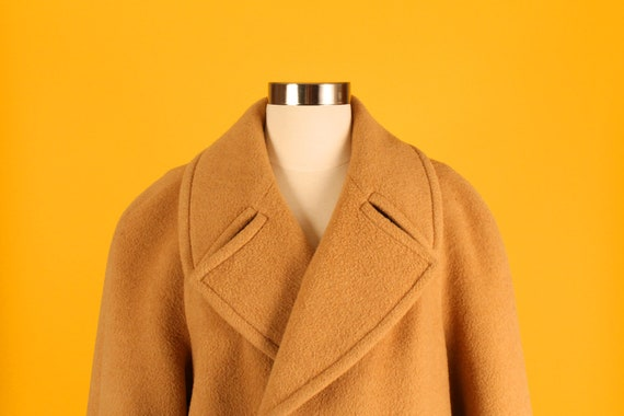 Plus Size Camel Boyfriend Coat Add to Saved Items Remove from Saved Items