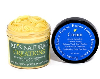 Eczema Cream - Itch Relief - Benefits Atopic Dermatitis & Skin Irritations - Made With A Unique Oil From South America