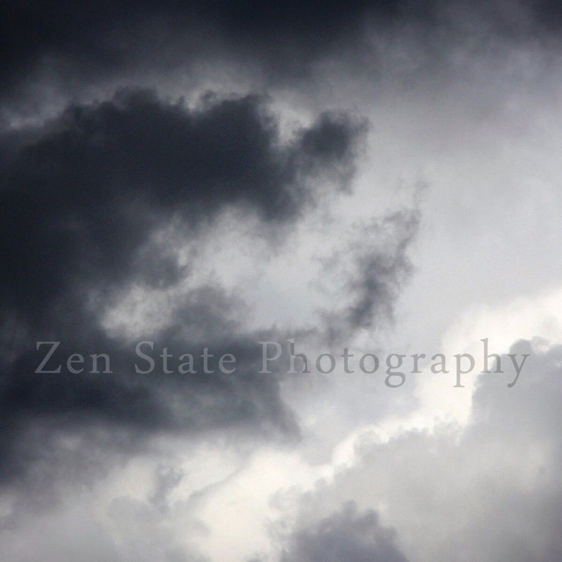 Cloud Art. Cloudy Sky Photo Print. Sky Photography. Cloud image 0