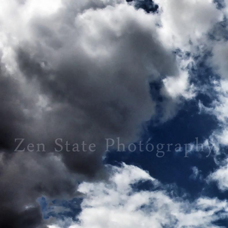 Cloud Photography. Cloud Watching Sky Photography Print. Wall image 0