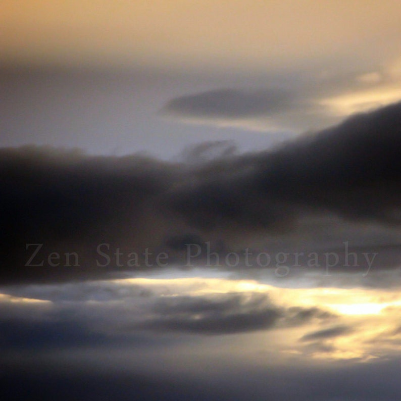 Stormy Sky Photo Print. Cloud Watching Print. Sky Photography image 0