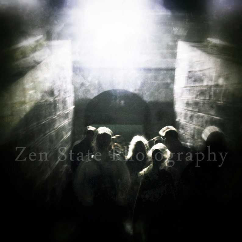 Into the Light Fine Art Print. Spooky Surreal Photography Art. image 0