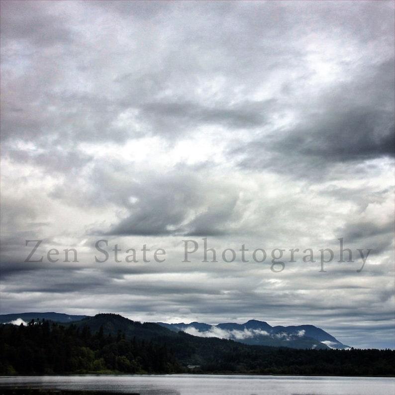Lake and Sky Print. Landscape Photo. Landscape Print Wall image 0