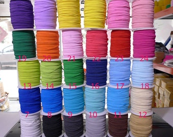 2 METRE FROSTED GLITTER ELASTIC  5//8  16MM  CHOICE OF COLOURS