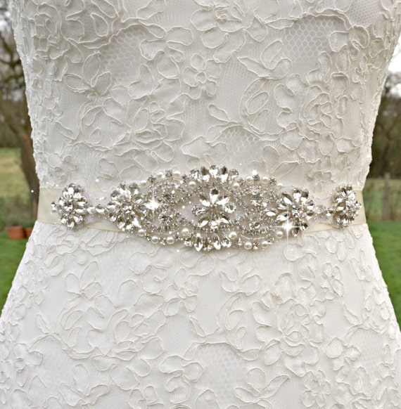 Bridal Sash Bridal Belt Bridesmaid Belt Sash Belt Great Etsy