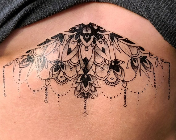 Chandelier - Temporary Tattoo - Large