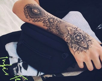 Forearm Sleeve Tattoos Designs On Paper