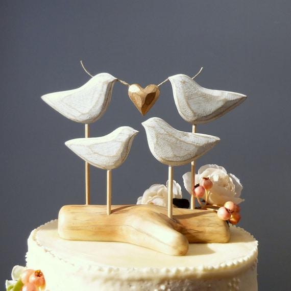 Holzerne Cake Topper Familie Hochzeitstorte Holz Hochzeit Etsy