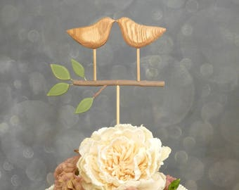 Bridal Cake Topper, Wedding Topper, Rustic Cake Topper for the Bride and Groom