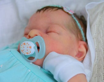 For example only. Fullbody silicone doll Agasha. Baby. Handmade baby doll.