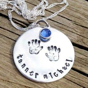 Custom Necklace Personalized Jewelry Family Photo Locket Secret Message Pendant Sympathy Memorial Birthday Gift Ideas Mom Dad Grandma Women