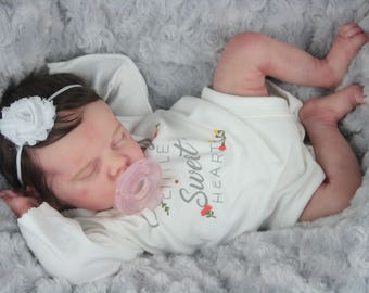 5c5431ad2 Reborn Baby Doll Twin A by Bonnie Brown Beautifully Sculpted w/ COA