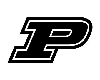purdue logo etsy rh etsy com purdue p logo font purdue p logo font