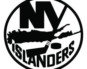 New York Islanders Vinyl Sticker