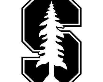 Stanford Vinyl Sticker
