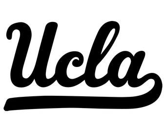 UCLA Vinyl Sticker
