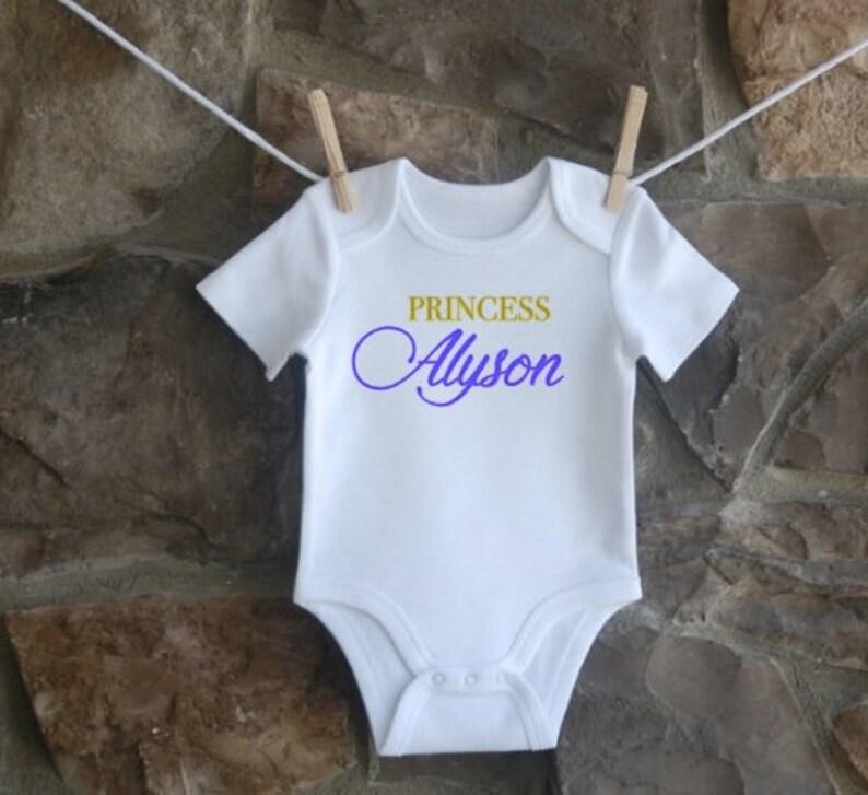 Queens are born Baby Princessone-piece New Princess Princess bodysuit