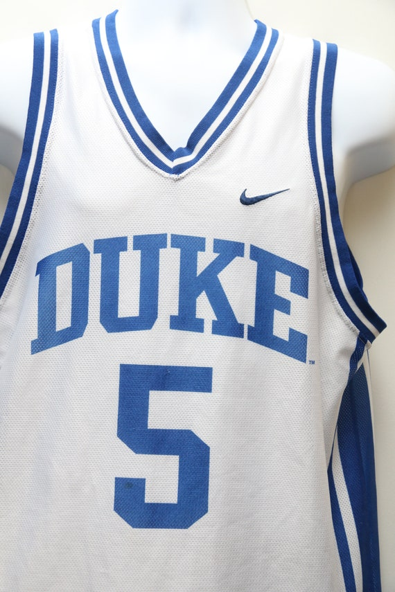 Basketball Blue Sz Duke Jersey Rare CAPEL