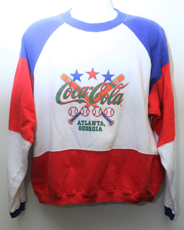 Très Rare 1991 Vintage Coca Cola à Grand Atlanta Couleur Bloc