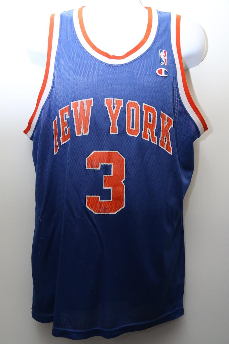 6f0bdf8c4 Very Rare 90 s Vintage Champion JOHN STARKS New York