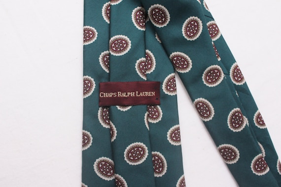 "80's Vintage ""CHAPS RALPH LAUREN"" Pattern Designe… - image 4"