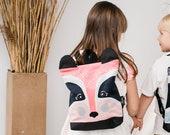 Badger backpack for kids, Kids backpack, Pink girls backpack, Printed backpack