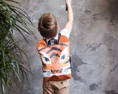 Tiger backpack, Kids backpack, Toddler backpack, Printed waterproof backpack