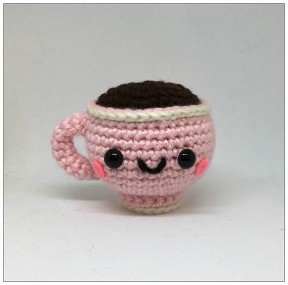Kleine Teetasse Amigurumi häkeln Plüschtier | Etsy