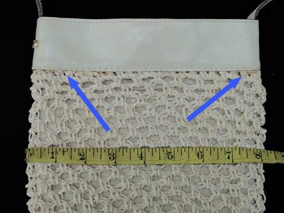 Vintage Halston Macramé Shoulder Bag, a 1970s Stu… - image 4