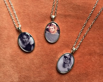 Kurt Cobain Cameo Necklaces