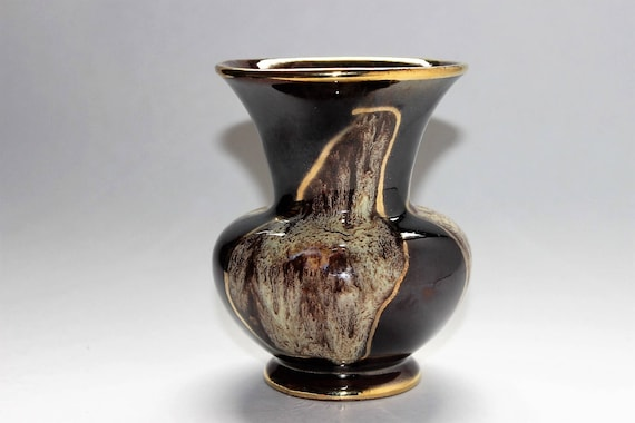 German Pottery Jasba Keramik Vase Numbered 23512 Circa 1960s Etsy