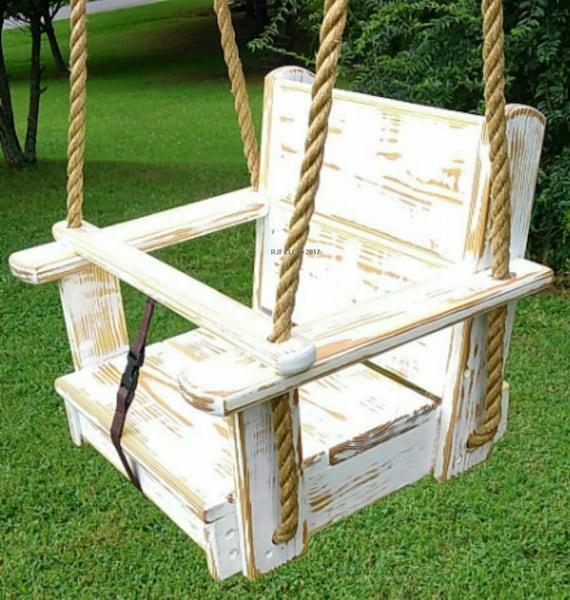 arbre bois balan oires enfants assise swing corde balan oire etsy. Black Bedroom Furniture Sets. Home Design Ideas