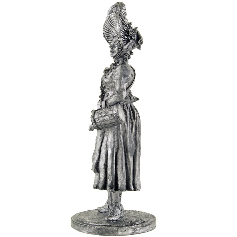 France  Sutler  1805-1815 years metal miniature sculpture  Collection 54mm  1:32 Tin toy soldiers shop