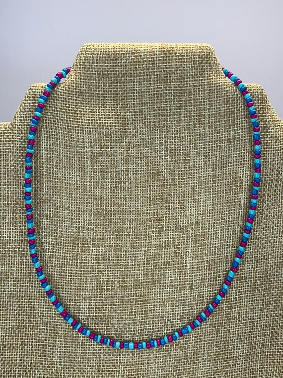 Tri Colored Necklaces