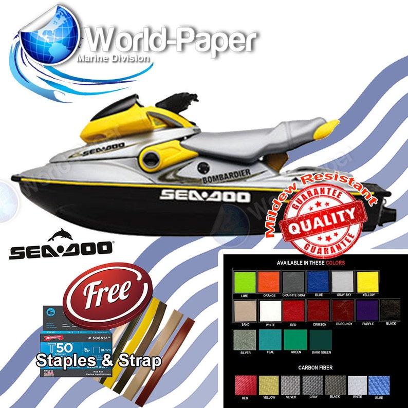 Sea Doo Seadoo Jet Ski XP XPL DI Limited Seat Skin Cover 99 / 03 :)
