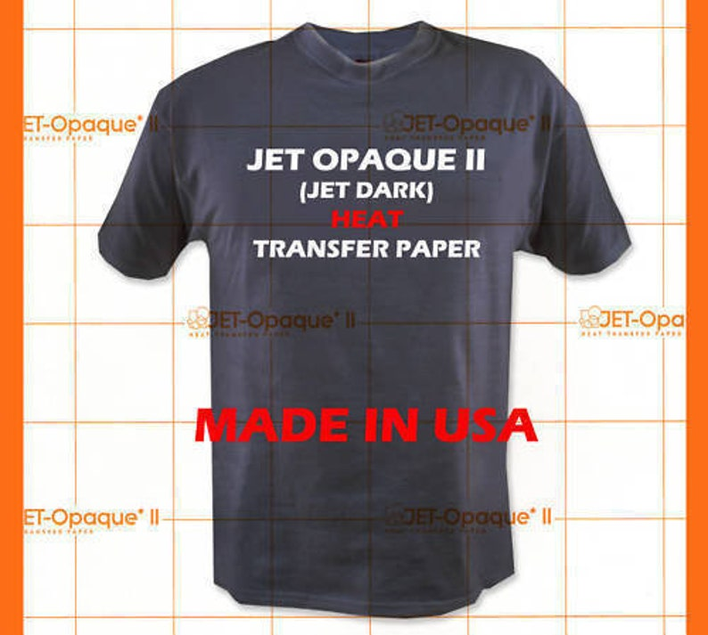 Laser 1 Opaque Dark Heat Transfer Paper By Neenah A4 25 sheets Best Seller USA