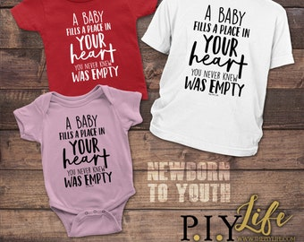 Kids   A Kids fills a place in your heart you never knew was empty Kids Bodysuit DTG Printing on Demand