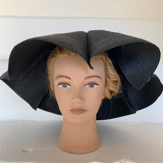 Amazing New Look Mr. D Straw Hat Summer Hat Large