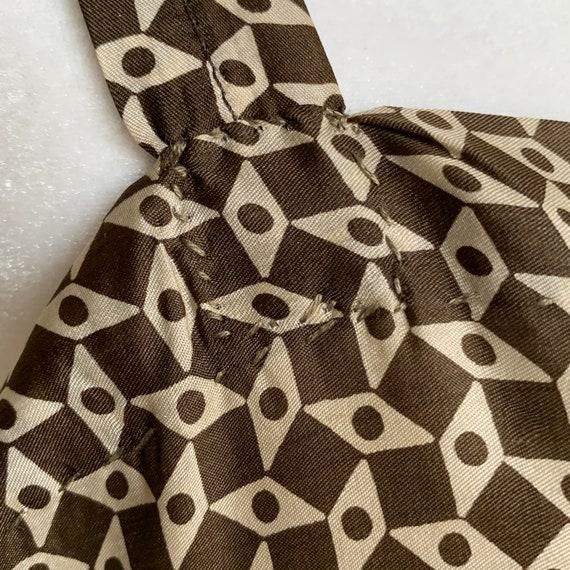 1920s Slip Dress Silk Rayon Blend Print  Plus Size